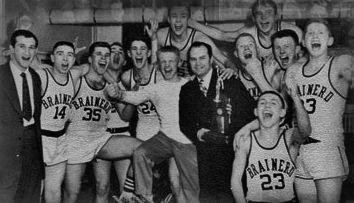 Fred Kellett Brainerd Warriors 1954 State High School Basketball Champions Bemidji