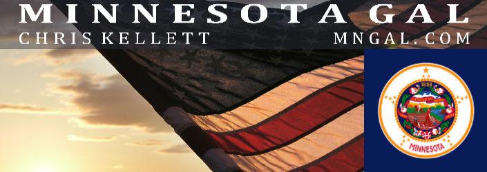 US Flag Sunset MN Gal