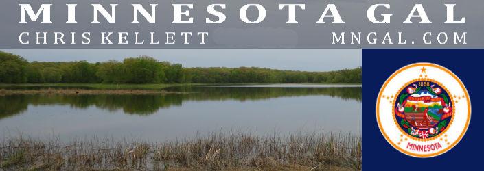 Lake near farm in Marine on St Croix Minnesota